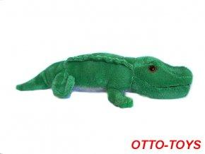 malý levný plyšový krokodýl