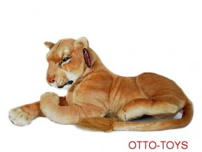 Plyšová lvice 110cm ležící