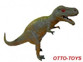 hračka velký stojící gumový dinosaurus