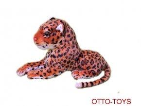 Plyšový leopard 25cm plyšáci leopardi