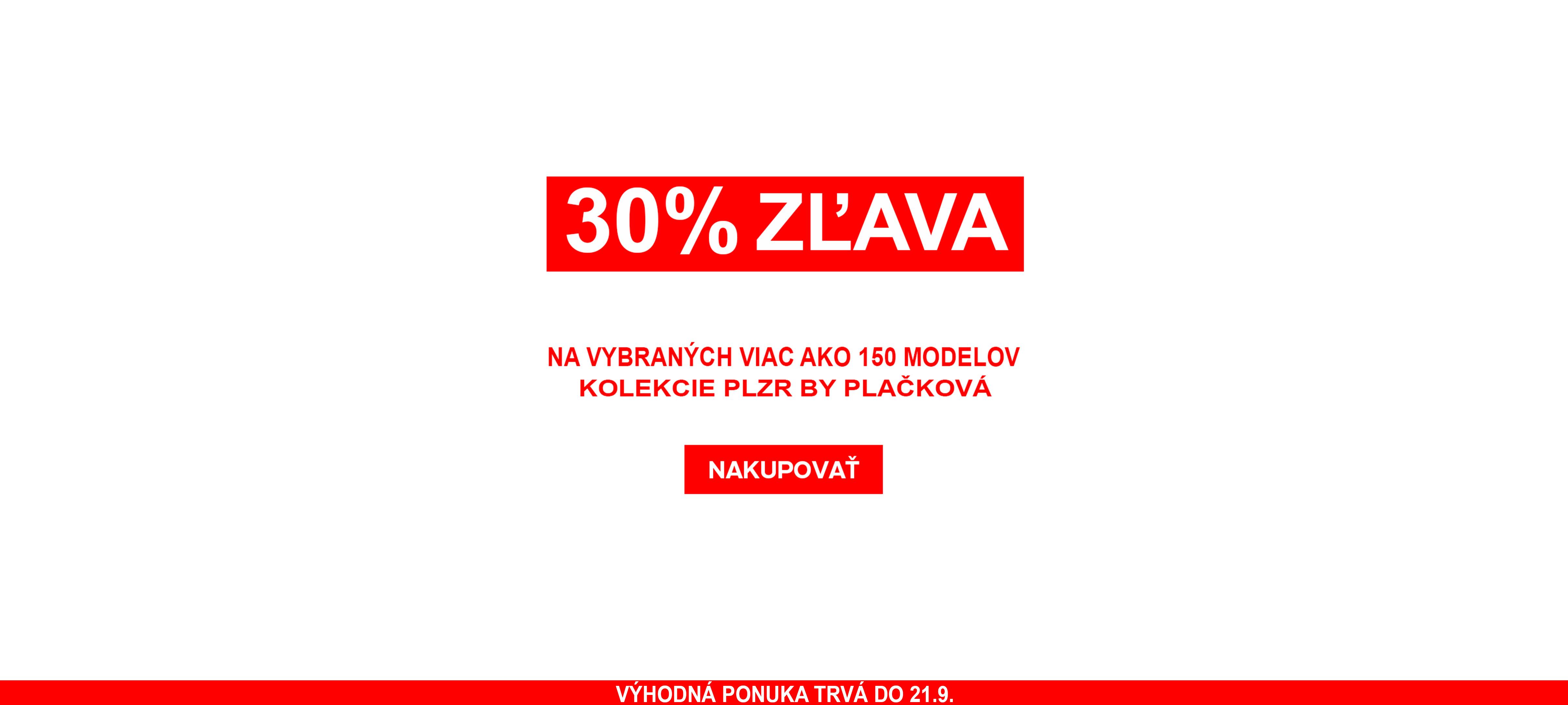 30% ZĽAVA