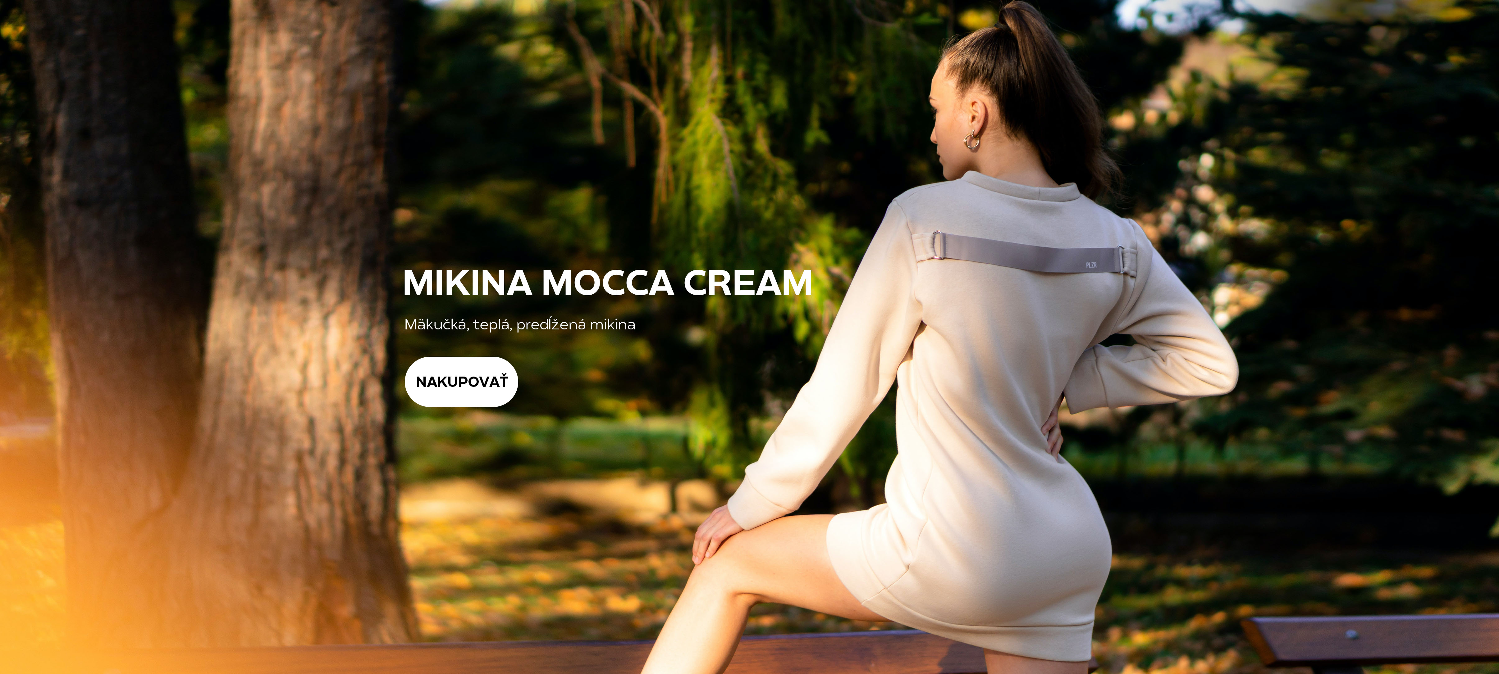 Mikina MOCCA CREAM
