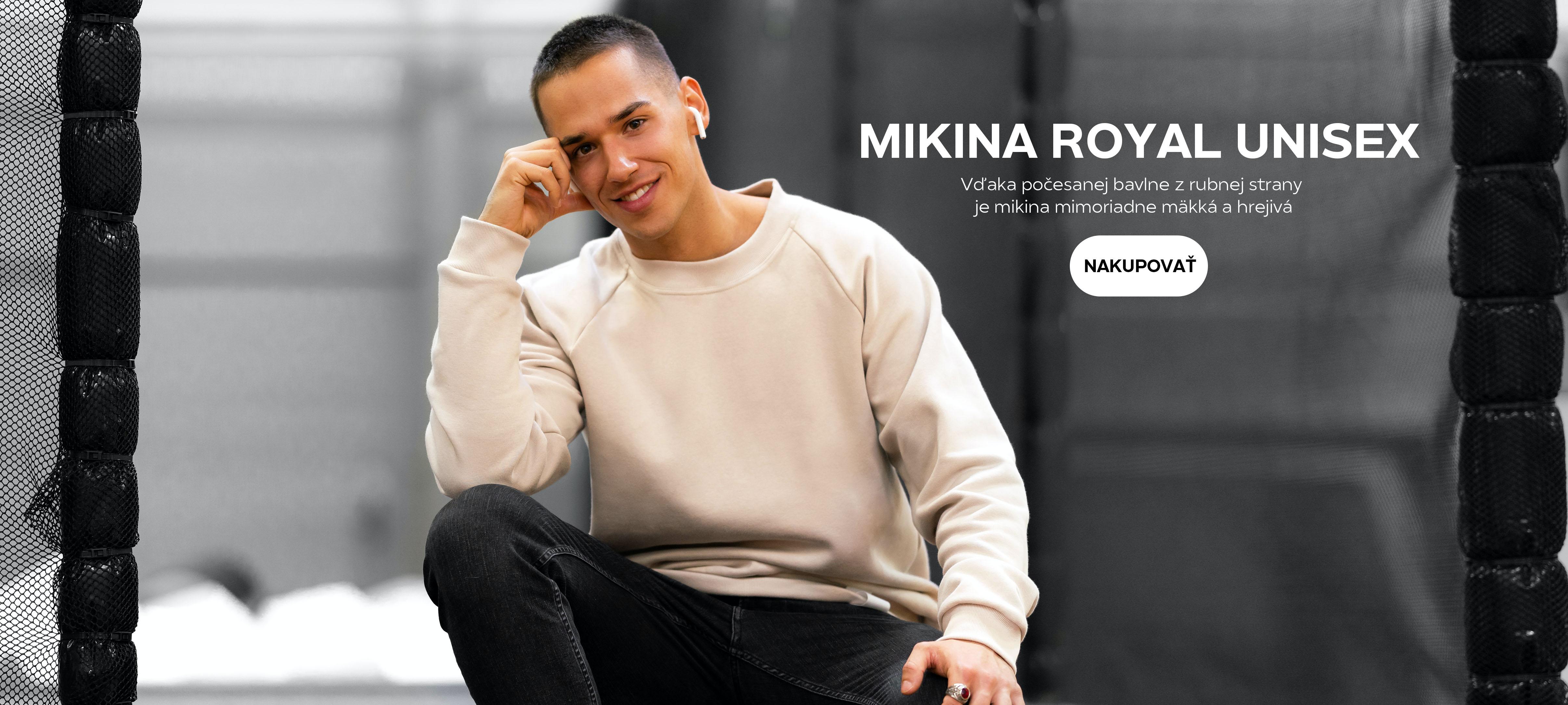MIKINA ROYAL UNISEX