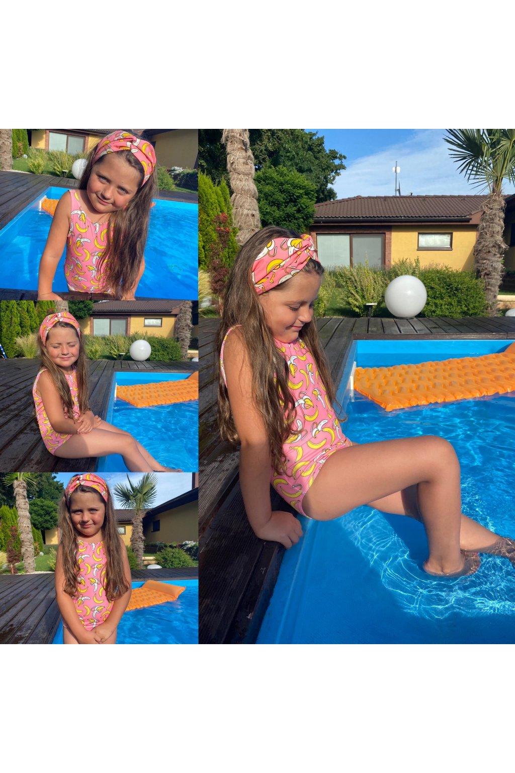 Jednodielne plavky detské FRUIT 1