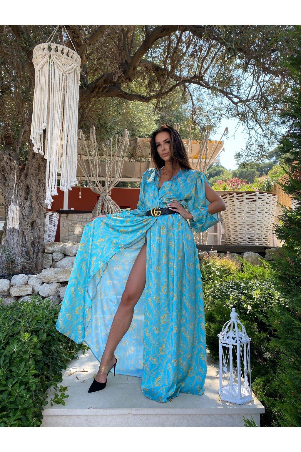 Šaty OMNIA BLUE A