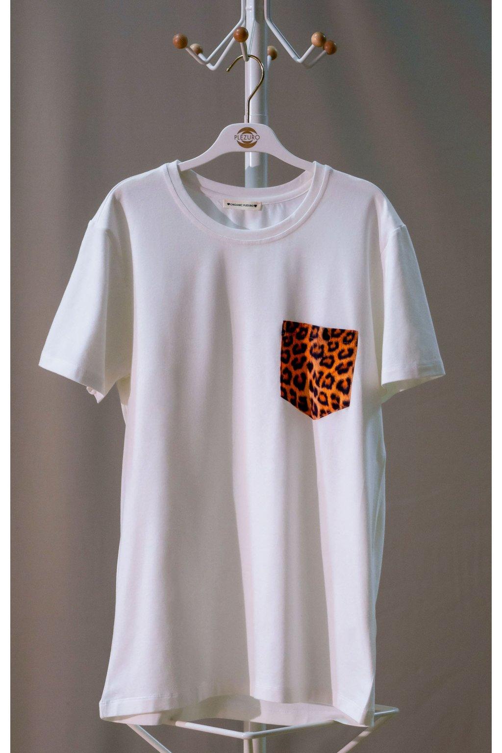 Tričko z organickej bavlny LEOPARD 1