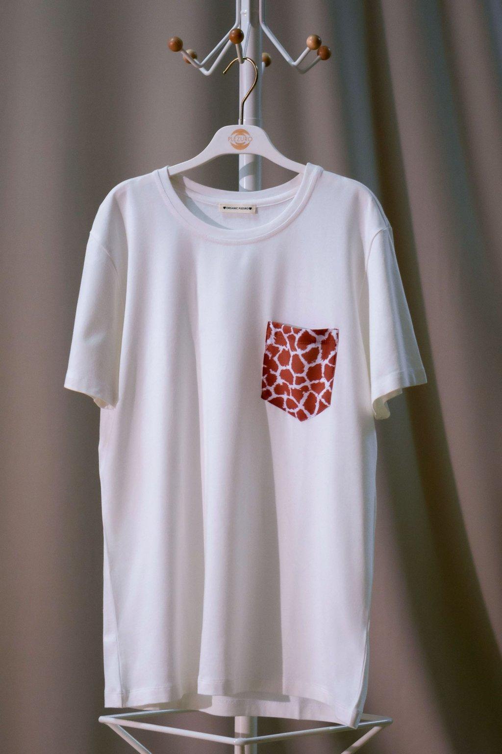 Tričko z organickej bavlny GIRAFFE 1