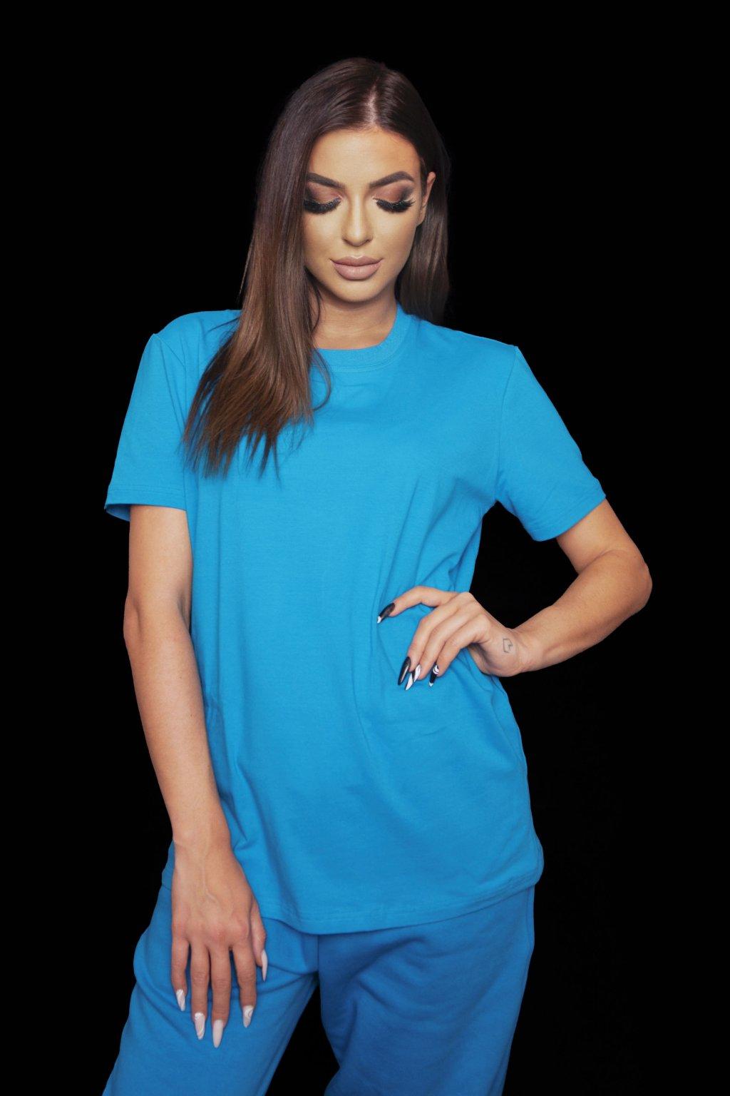 Tričko PARIS BLUE 1
