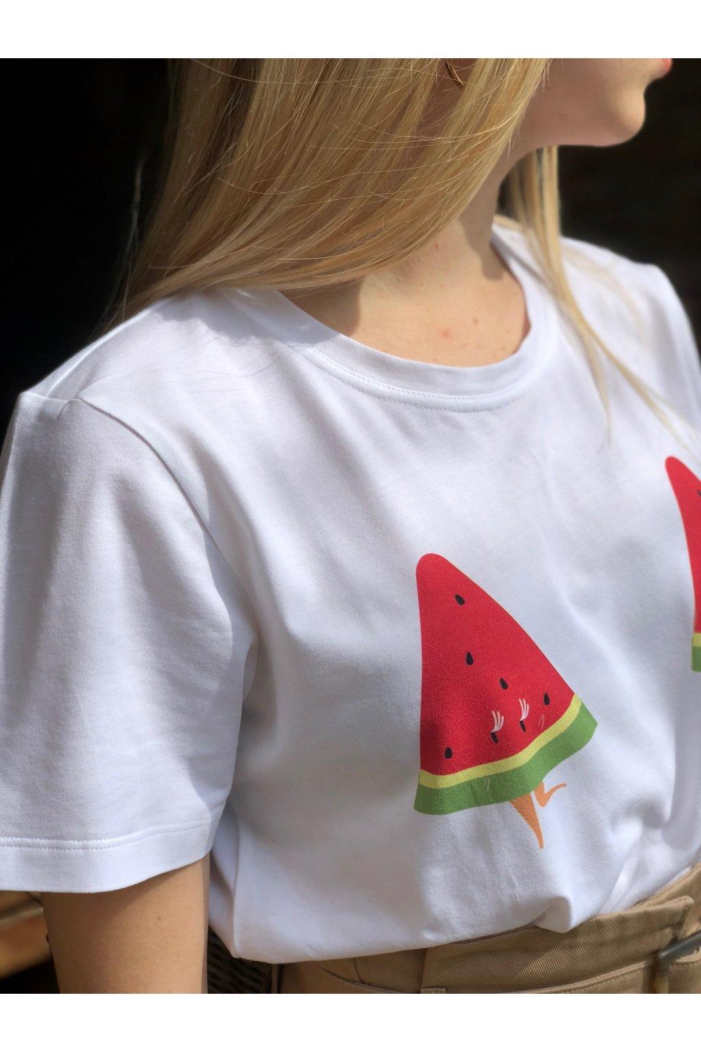 Dámske tričko z organickej bavlny MELÓN