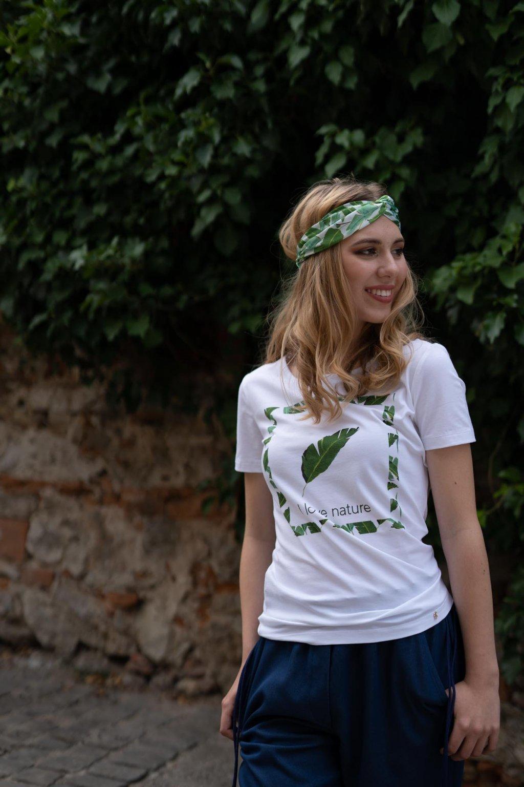 Dámske tričko z organickej bavlny Green Collection 2