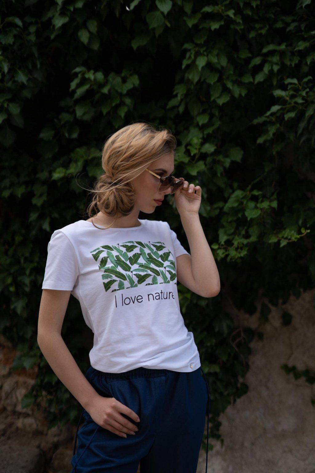 Dámske tričko z organickej bavlny Green Collection 1