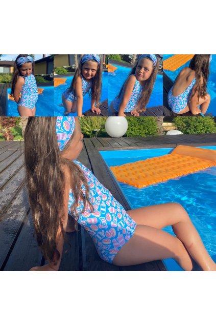 Jednodielne plavky detské SUMMER 1