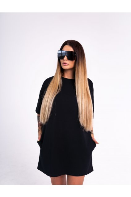OVER SIZE Šaty ONYX A