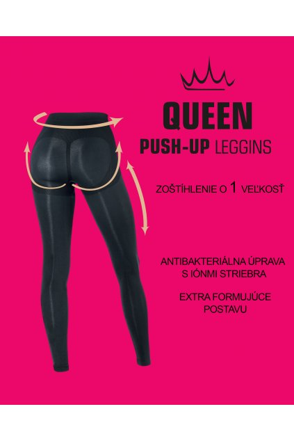 Legíny QUEEN CONTROL BODY BLACK 1