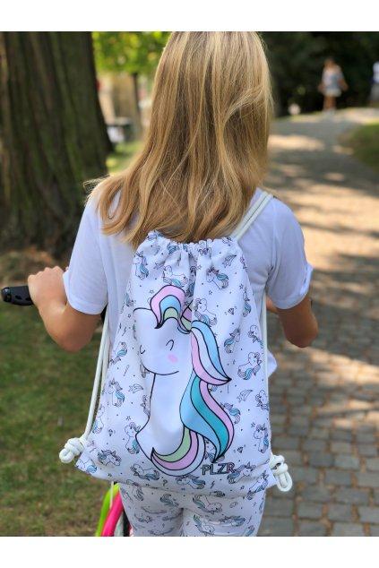 Vak Unicorn biely 1