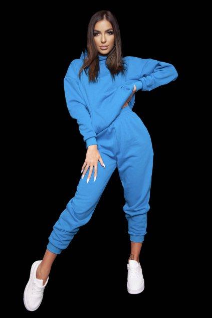 Mikina PARIS BLUE 3