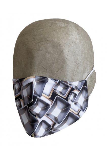 Rúško DIAMOND s iónmi striebra UNISEX