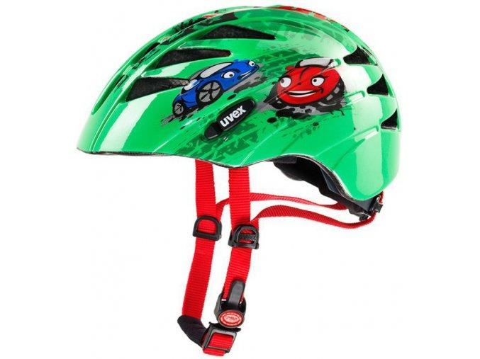 Dětská cyklistická přilba UVEX KID 1, CARS