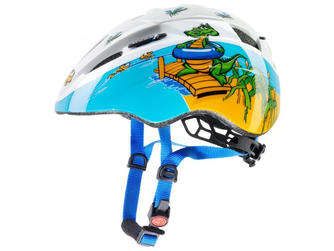 Dětská cyklistická přilba UVEX KID 2, CROCODILE