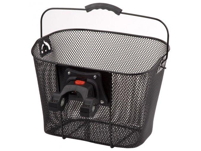 košík na řídítka KLICK černý