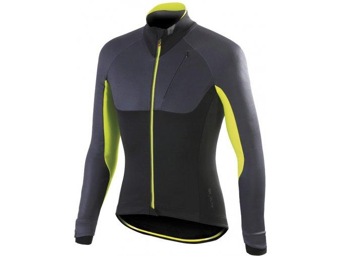 Pánská bunda Specialized Elements SL Elite black/anthracite/yelo