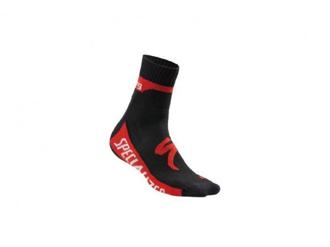 ponožky Specialized TEAM EXPERT Black/Red 2016