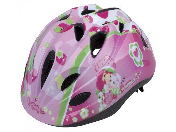 Dětská cyklistická přilba PRO-T Plus Toledo In mold  Jahůdka