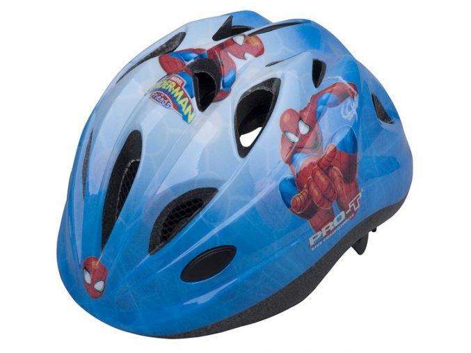 Dětská cyklistická přilba PRO-T Plus Toledo In mold  SPIDERMAN