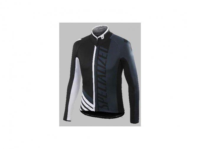 Pánská bunda Specialized PRO Racing Jacket black/anthracite/white