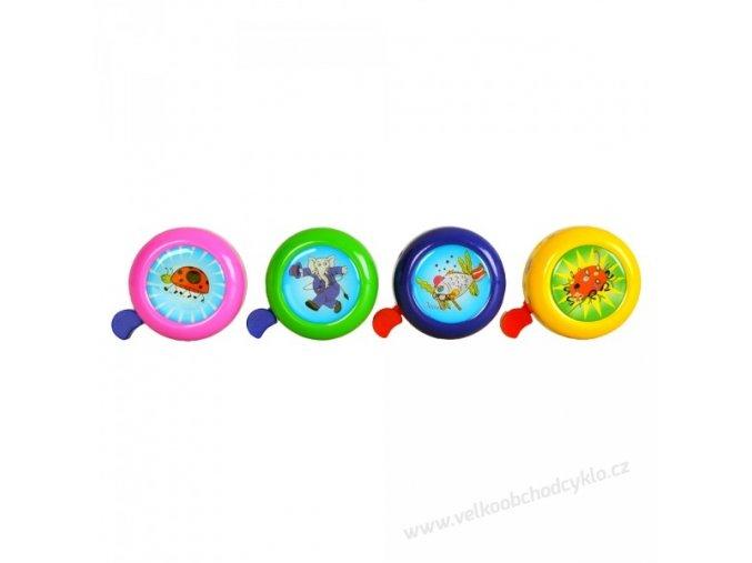 Zvonek- klasika, 3-D, dětské motivy