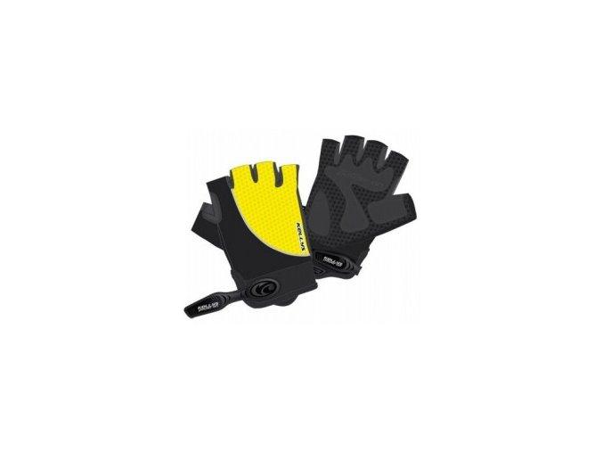 rukavice kellys season yellow xs