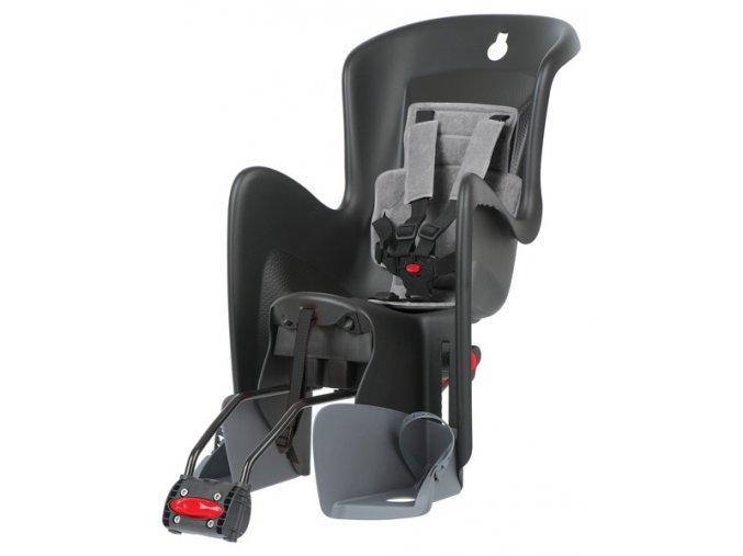 Dětská sedačka POLISPORT Bilby RS polohovací černo-šedá