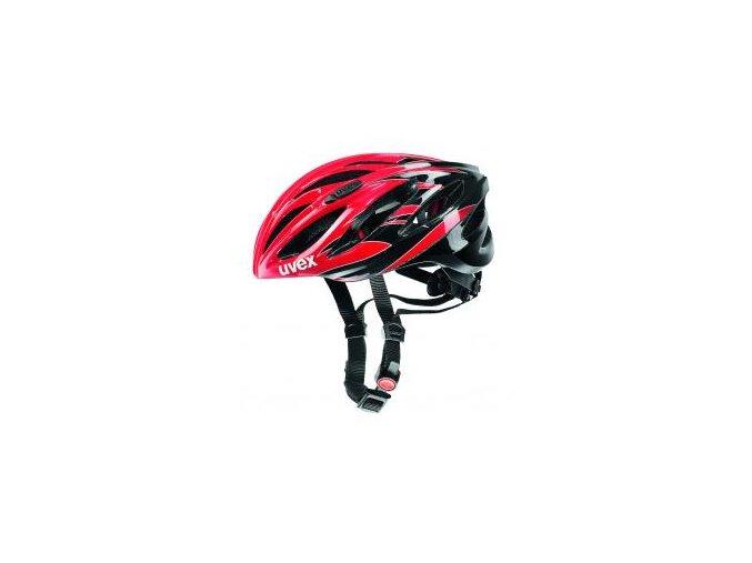 13 uvex helma boss race red black 1072885