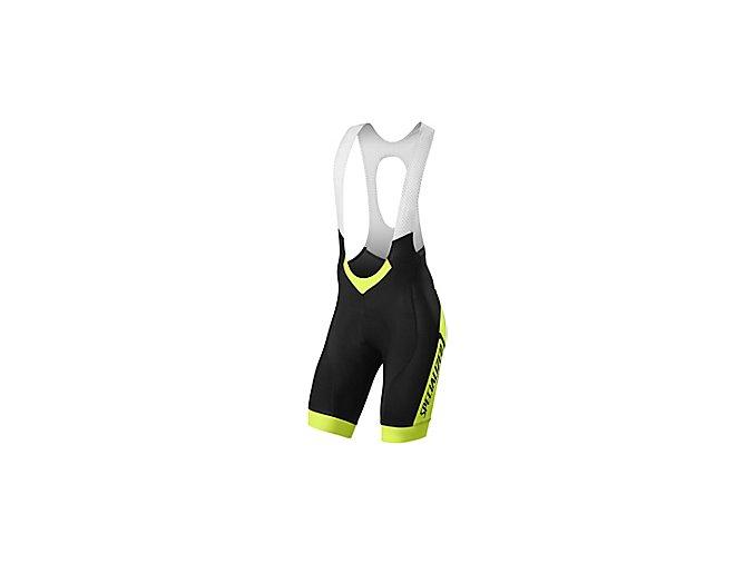 cyklistické kalhoty Specialized SL PRO BIB SHORT NEON YEL TEAM M