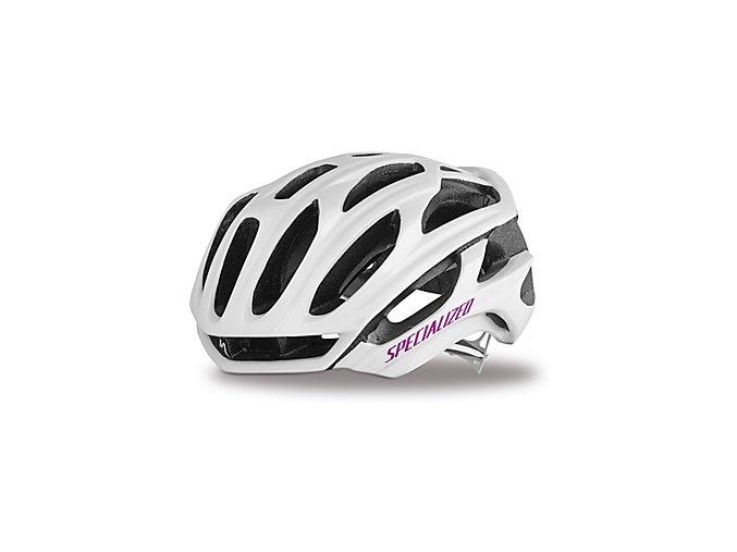 Cyklistická přilba Specialized S-Works Women's Prevail White/Pink
