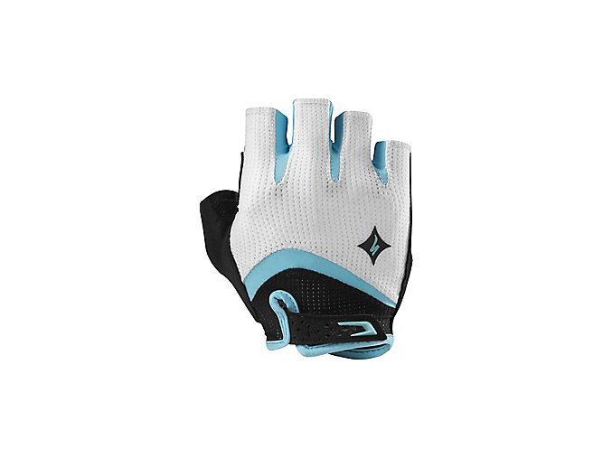 dámské rukavice Specialized BG GEL white/teal
