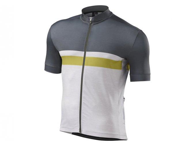cyklistický dres RBX COMP JERSEY SPECIALIZED Oak Green/Mustard Yellow XXL