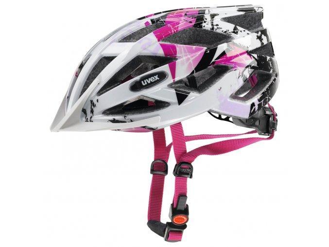 Cyklistická přilba UVEX HELMA AIR WING, ROSE WHITE