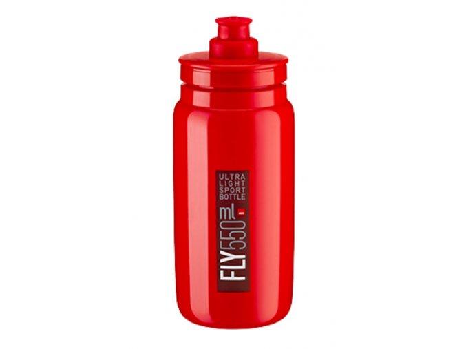 Láhev Elite červená, bordeaux logo