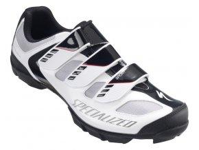 Cyklistické tretry Specialized Sport MTB - white/black 2016