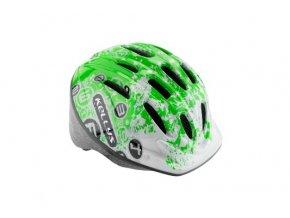 Dětská cyklistická přilba KELLYS MARK - green  XS/S