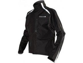 Pánská cyklistická bunda Endura Flyte Jacket - černá