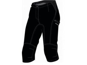 SILVINI dámské MTB cyklistické kalhoty 3/4 INVIO WP125 black vel.S