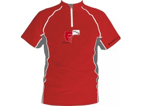 SILVINI dětský cyklistický dres BUFFO  red