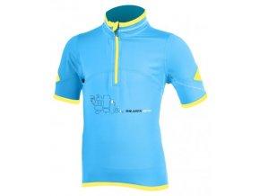 SILVINI dětský cyklistický dres INTENSO CD269 blue