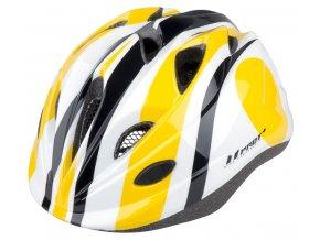 Dětská cyklistická přilba PRO-T Toledo žlutá