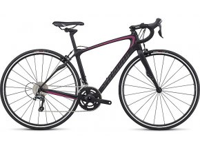 Specialized  RUBY SL4 - RIM BRAKE SATIN TARMAC BLACK / RAINBOW PINK / WARM CHARCOAL