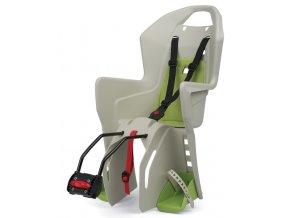 Dětská sedačka POLISPORT Koolah krémovo-zelená