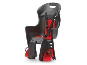 Dětská sedačka POLISPORT Boodie černo-červená