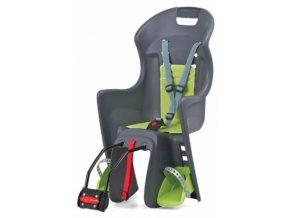 Dětská sedačka POLISPORT Boodie šedo-zelená